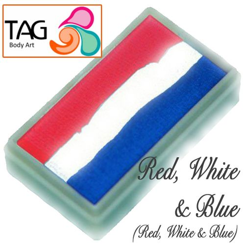 TAG 30g One Stroke Cake ~ Red, White, Blue